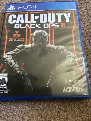 Call of duty black ops 3 for Sale in Columbus, OH
