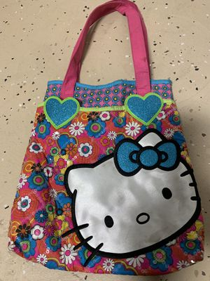 Hello kitty girls bag with two compartments for Sale in Fort Lauderdale, FL