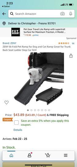 New Dog Ramp for Sale in Fresno,  CA