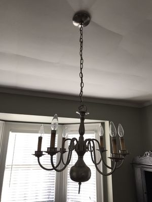 6 arm chandelier for Sale in High Point, NC