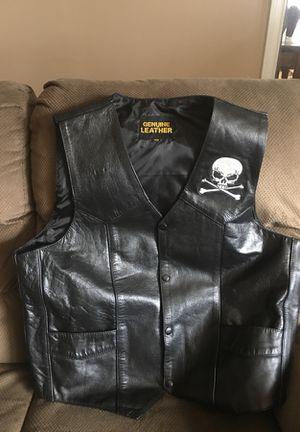 Skull motorcycle vest for Sale in Manchester Township, NJ