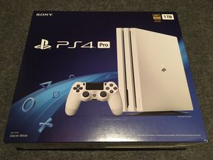 PS4 PRO 1TB (Glacier White) for Sale in Eastvale, CA