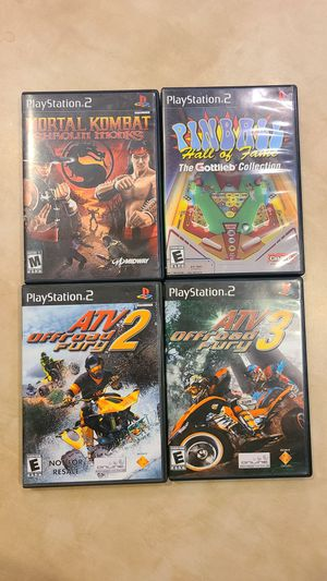 PS2 games - Lot of 4 for Sale in Chandler, AZ