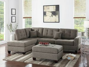 Sectional and Ottoman in Special offer in 45701 Highway 27N Davenport Fl 33897 for Sale in Davenport, FL