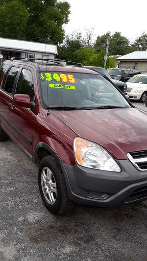 HONDA CRV 03 $3,495 cash $1600 down $230 month for Sale in San Antonio, TX