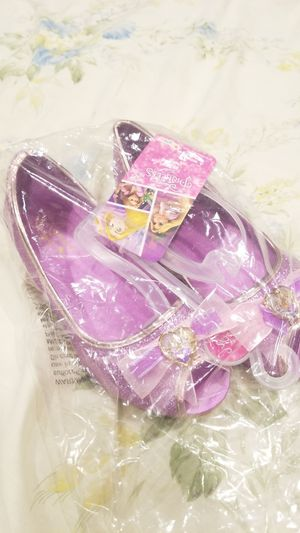 Rapunzel Girl Shoes- Brand New (size 2/3) for Sale in Houston, TX