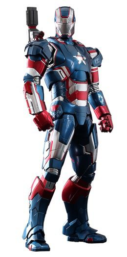 Iron patriot diecast 12 inch hot toys figure iron man 902014 for Sale in Queens, NY