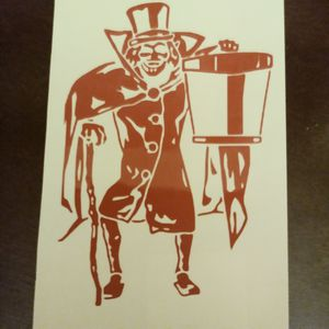 Disney's Hat Box Ghost Vinyl Decal for Sale in Paulsboro, NJ