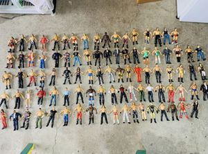 Vintage WWE/WWF Action figures from Late 90s and early 2000 for Sale in San Martin, CA