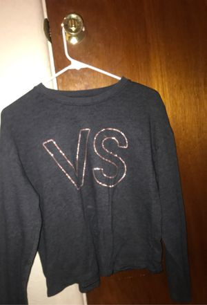 Victoria secret and vans of the wall crop top and sweater and Champion joggers for Sale in Colorado Springs, CO
