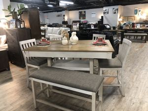 6 Piece Dining Table Set for Sale in Bluffton, SC