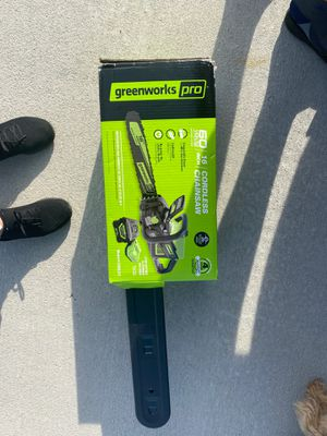 Cordless chainsaw brand new for Sale in Kissimmee, FL