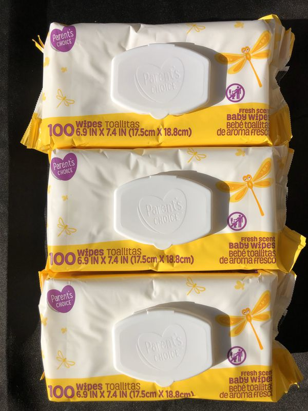 Baby Wipes (100 count) First come, first served!
