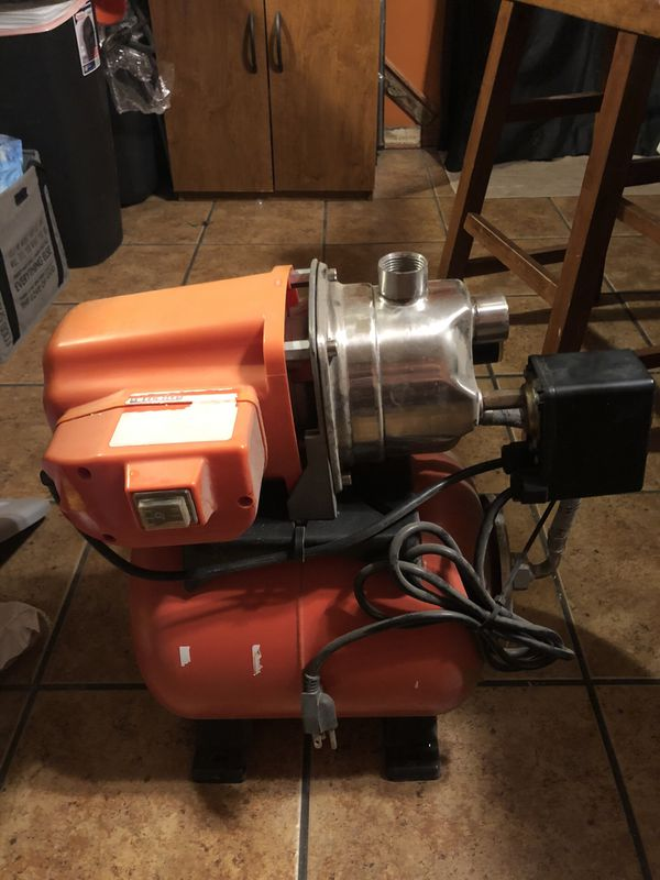 2 Water Pumps for trade worth 200 each but will trade let me know what you got DJ lawn equipment speakers
