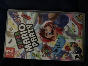 Mario Party for Nintendo Switch for Sale in San Jacinto, CA