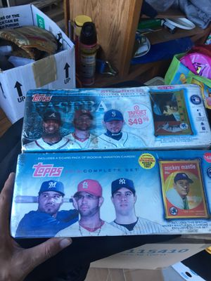Baseball card sets for Sale in Oakland, CA