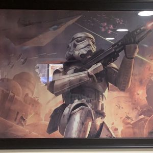 Star Wars Storm Trooper Picture for Sale in Round Lake, IL