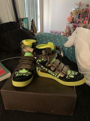 Louis Vuitton Stephen Sprouse green graffiti sneakers SZ9 for Sale in Las Vegas, NV