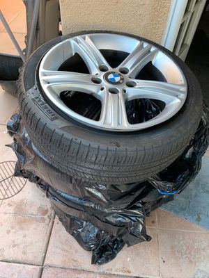 BMW RIMS WITH TIRES!!! for Sale in Encinitas, CA