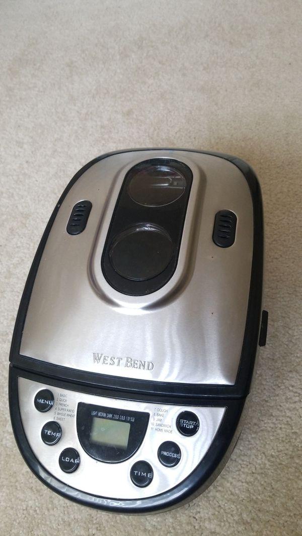 West Bend bread maker Model 41300