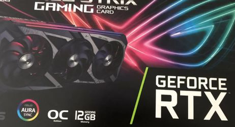 Asus ROG strix RTX 3060 OC for Sale in Fontana,  CA