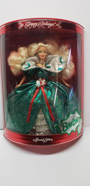 Special edition holiday barbie for Sale in Algonquin, IL