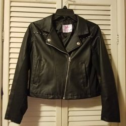 Justice Faux Leather Jacket for Sale in Philadelphia,  PA