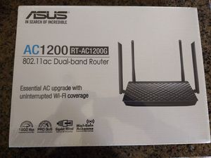 Asus AC1200 RT-AC1200G Dual Band Router - Brand new in factory sealed box with 2 year warranty for Sale in Houston, TX