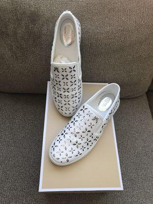 Michael Kors Leather Sneakers for Sale in Lynnwood, WA