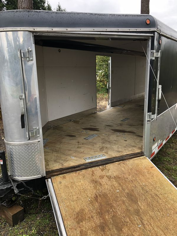 United enclosed trailer. 30' long