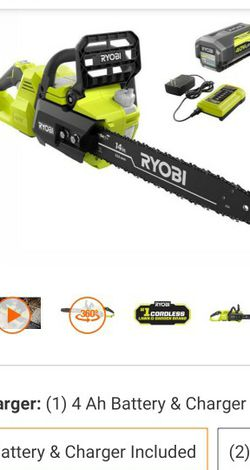Ryobi 40-V Brushless Chainsaw for Sale in Las Vegas,  NV
