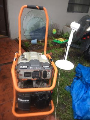MUST SEE GENERATOR- 8,500 Starting Watts [Brand: Rigid] 750 FIRM/ NO OFFERS for Sale in Miami, FL