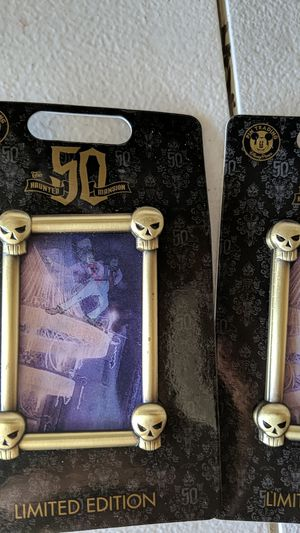 Disney haunted Mansion limited edition pin 15$each for Sale in Downey, CA