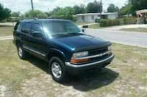 Blue Chevy Blazer $1200 obo for Sale in Tampa, FL