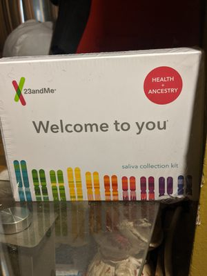 DNA Ancestry Genetic kit testing. Health and Ancestry *23 and me* Saliva Collection kit. for Sale in St. Louis, MO