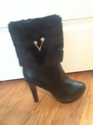 Black heel boot for Sale in Pittsburgh, PA