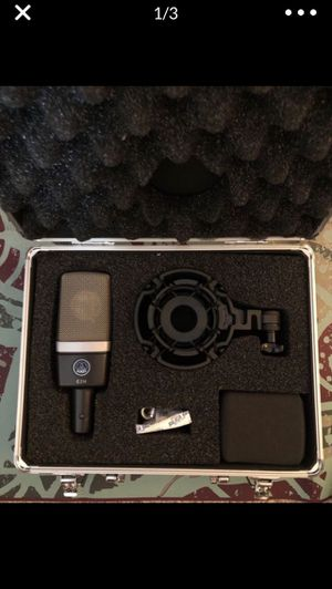 Akg microphone for Sale in Fresno, CA