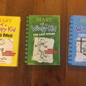 Diary Of A Wimpy Kid Book Lot for Sale in Port St. Lucie, FL