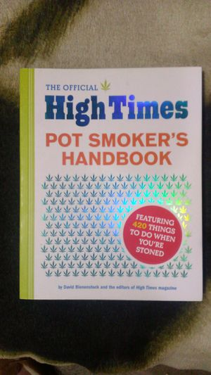 The Official High Times Pot Smoker's Handbook for Sale in Portland, OR