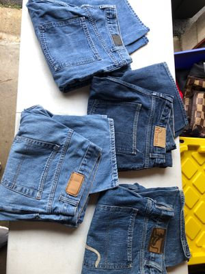Men's Jeans 38x34 loose fits (4) new and near new. for Sale in Manassas, VA