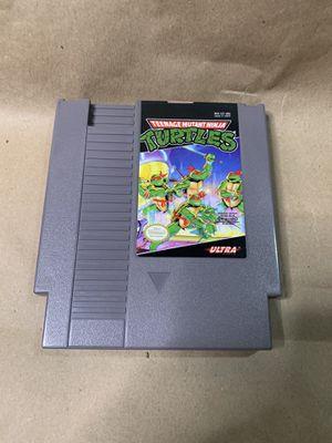 Teenage Mutant Ninja Turtles NES Nintendo TMNT game cartridge for Sale in King of Prussia, PA