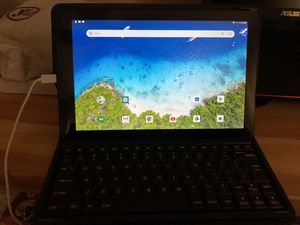 """New RCT 10.1"""" Android 8.1 tablet with Folio keyboards (8.1 Go Edition) for Sale in Franconia, VA"""