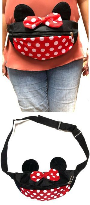 Brand NEW! Minnie Mouse Waist/Fanny Pack/Pouch For Disneyland/Everyday Use/Summer Bag/Gifts $10 for Sale in Torrance, CA