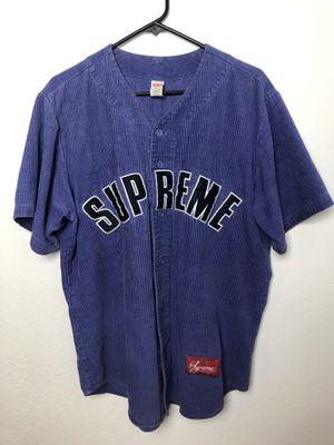 Supreme Baseball Jersey for Sale in Fresno, CA