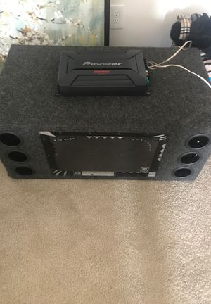 Subs and Amp for Sale in Falls Church, VA