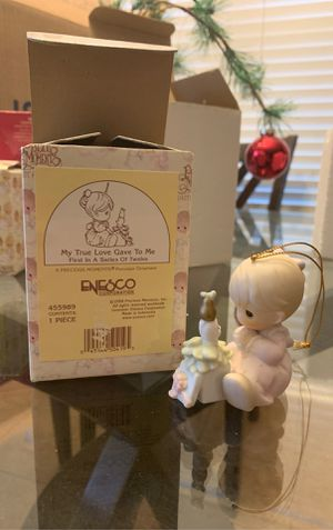 Precious moments ornament for Sale in San Antonio, TX