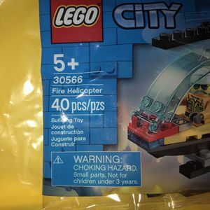LEGO City Model 30566 Fire Helicopter for Sale in Mission Viejo, CA