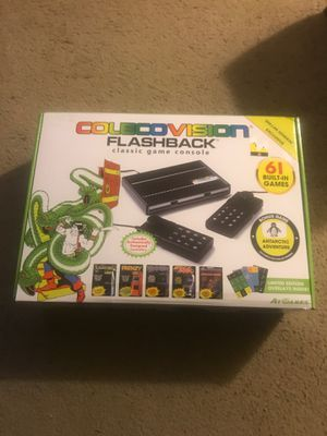 Brand New Coleco Vision Throwback game console for Sale in Kennesaw, GA