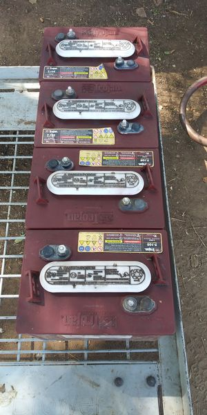 Golf cart batteries for Sale in Fresno, CA