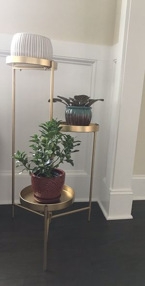 Metal plant stand for Sale in Cumming, GA